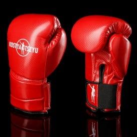 Красные перчатки.